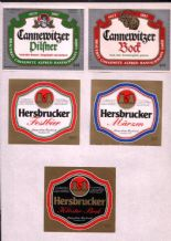Old beer bottle Beer labels Germany 3 pages  #061